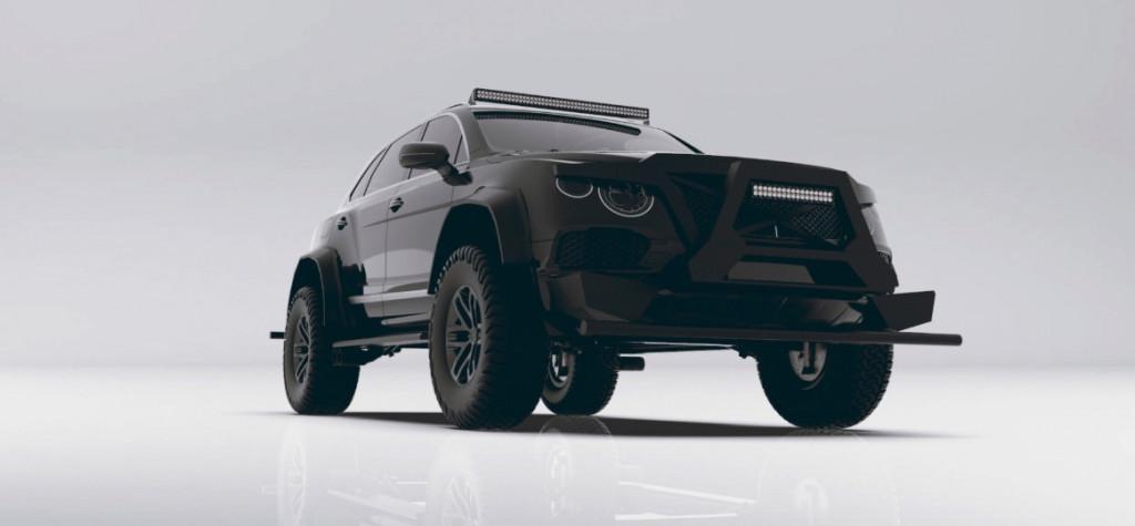 Custom Bentley Bentayga is ready for the apocalypse now