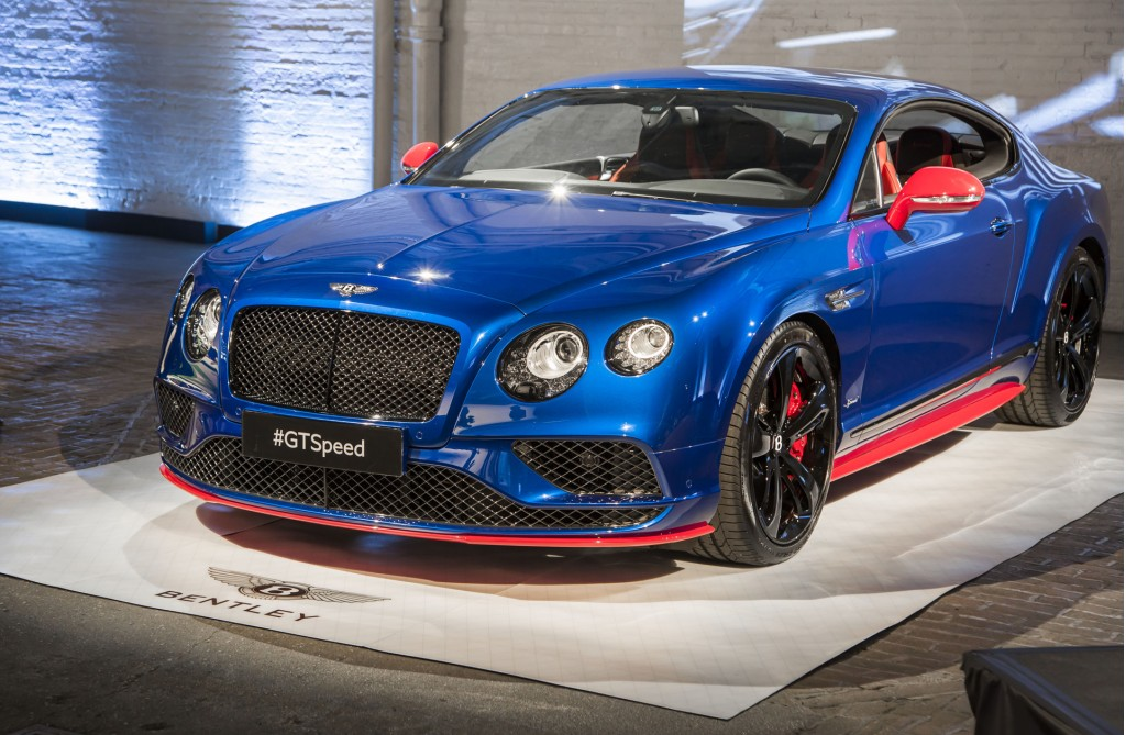 2017 Bentley Continental Gt Speed Priced From 240300