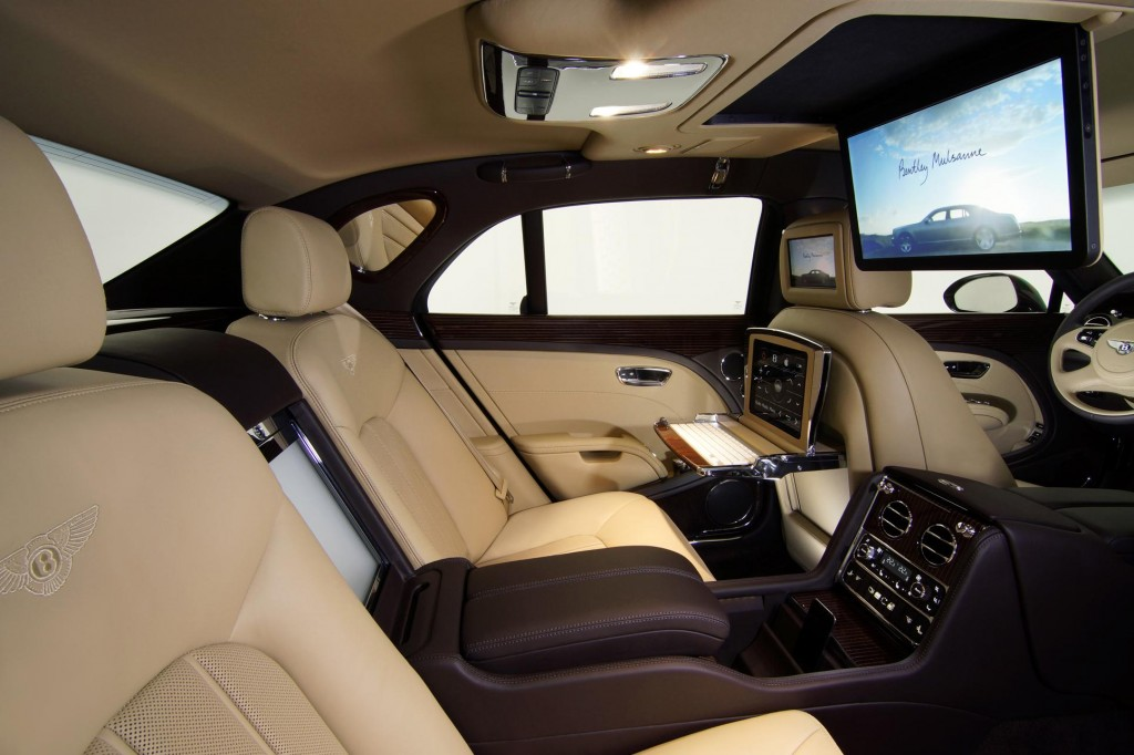 Bentley Mulsanne Executive Interior Concept 2011 Frankfurt Auto Show
