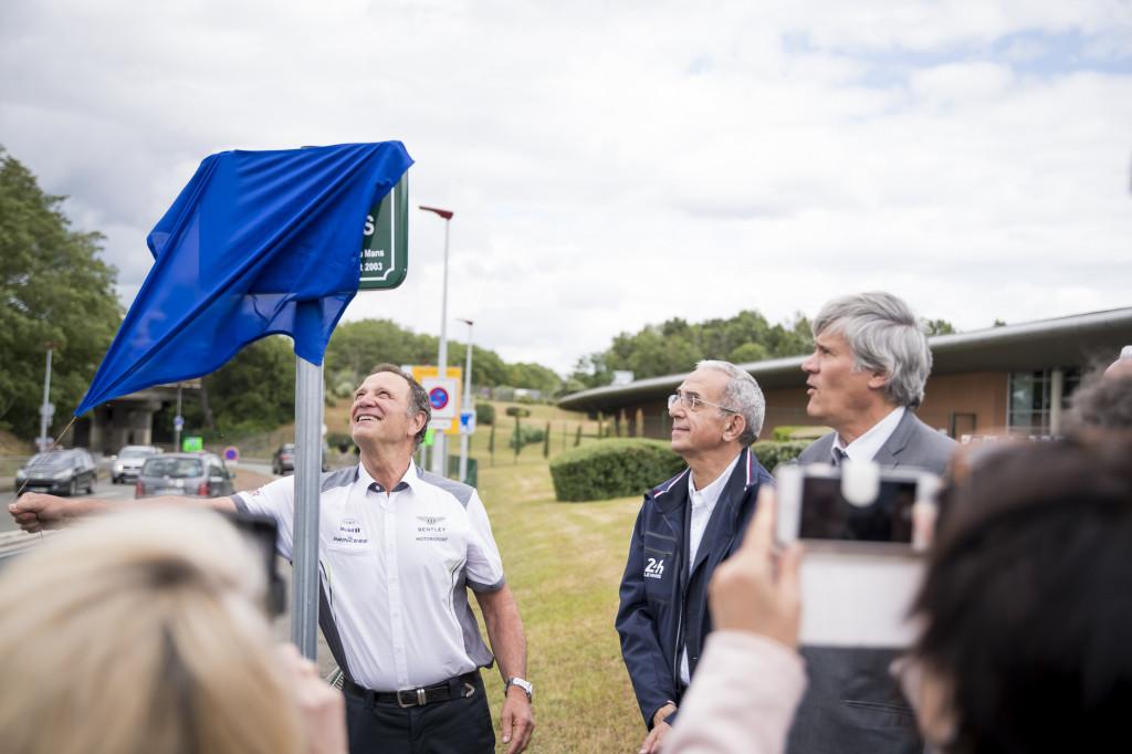 Le Mans renames street 'Bentley Boys' to honor Bentley