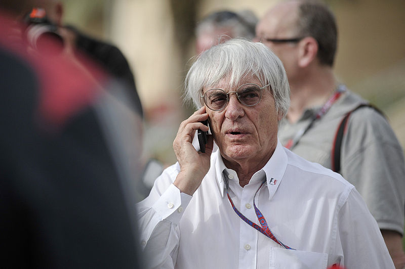 Bernie Ecclestone. Photo via Ryan Bayona under Creative Commons Attribution 2.0 Generic.