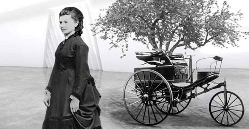Bertha Benz | Photo from Onmanorama