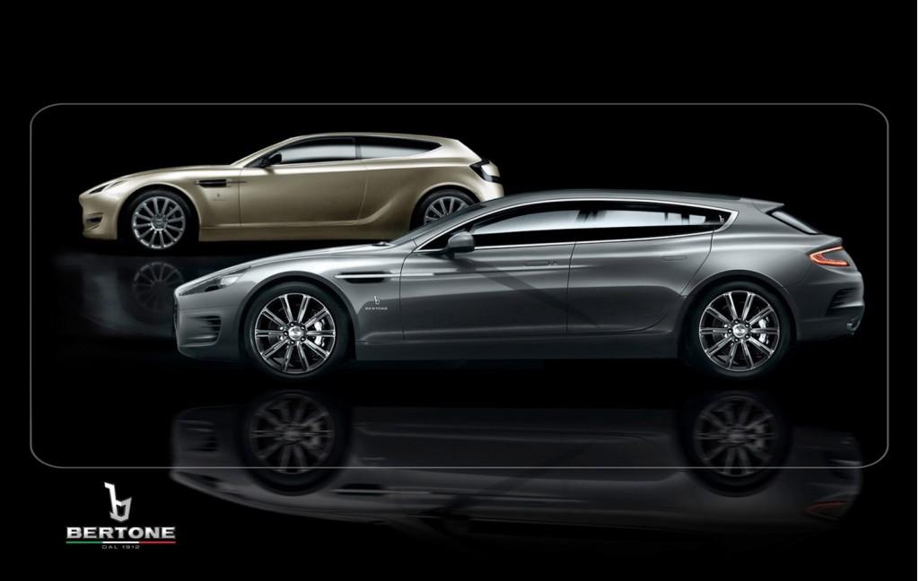 Bertone Jet 2 and Bertone Jet 2+2 concept cars