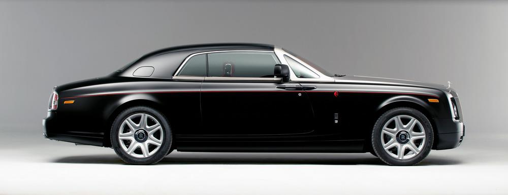 One-Off Rolls-Royce Phantom Mirage Is For Horse rs Only