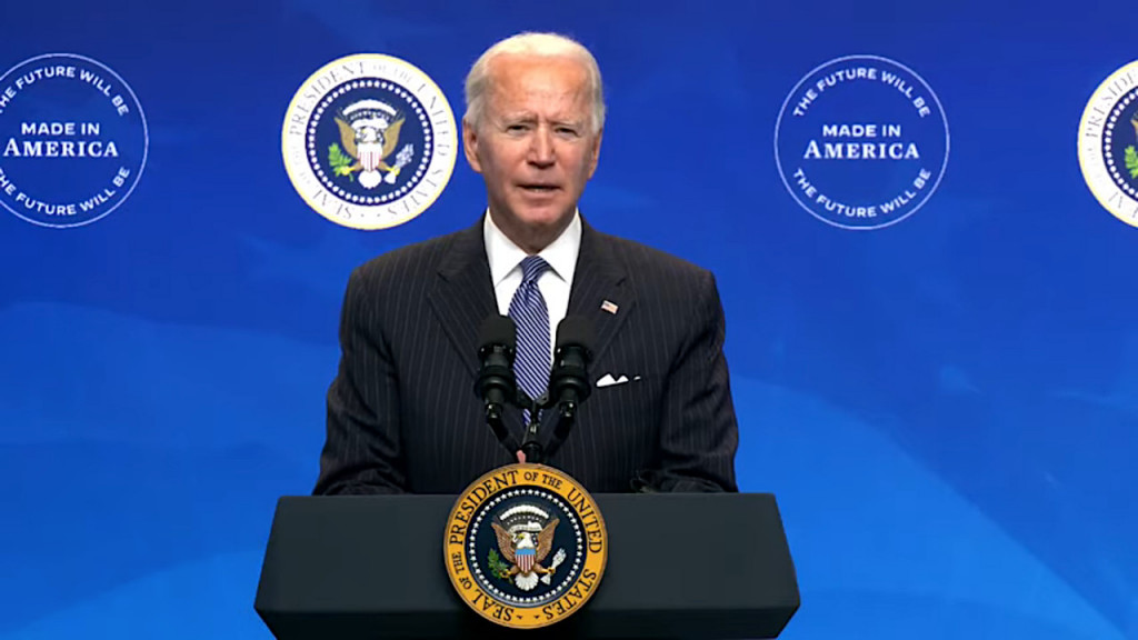 Biden aims to make federal fleet all-electric