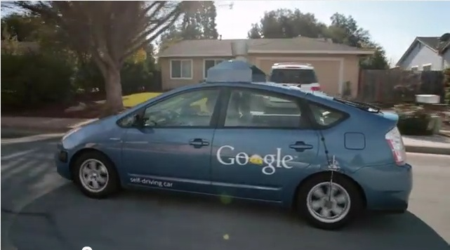 Blind Man Drives Prius With A Little Help From Google Video