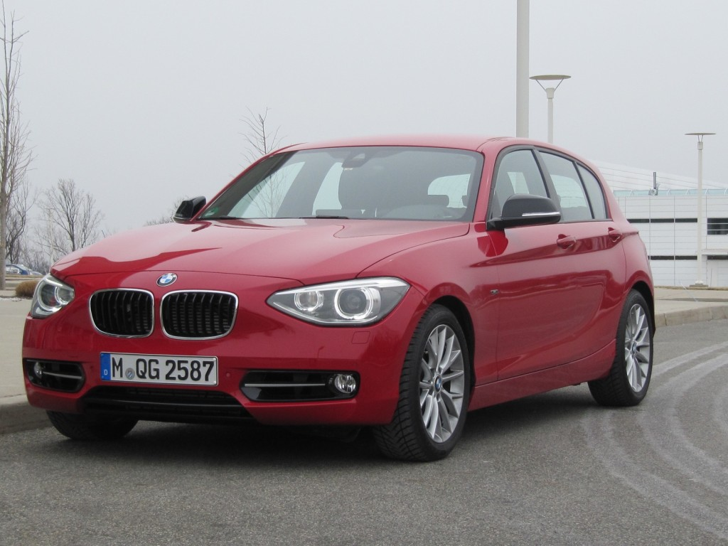 BMW 1 Series (European Model) Fitted With Prototype 1.5 Liter 3  Great Pictures