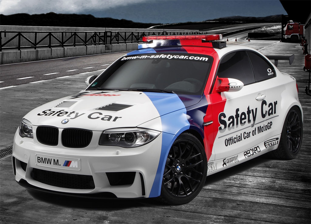 2011 Bmw 1 Series M Coupe Recruited As Motogp Safety Car