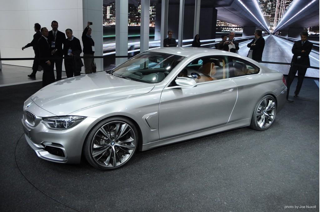 BMW 4-Series Coupe Concept at 2013 Detroit Auto Show