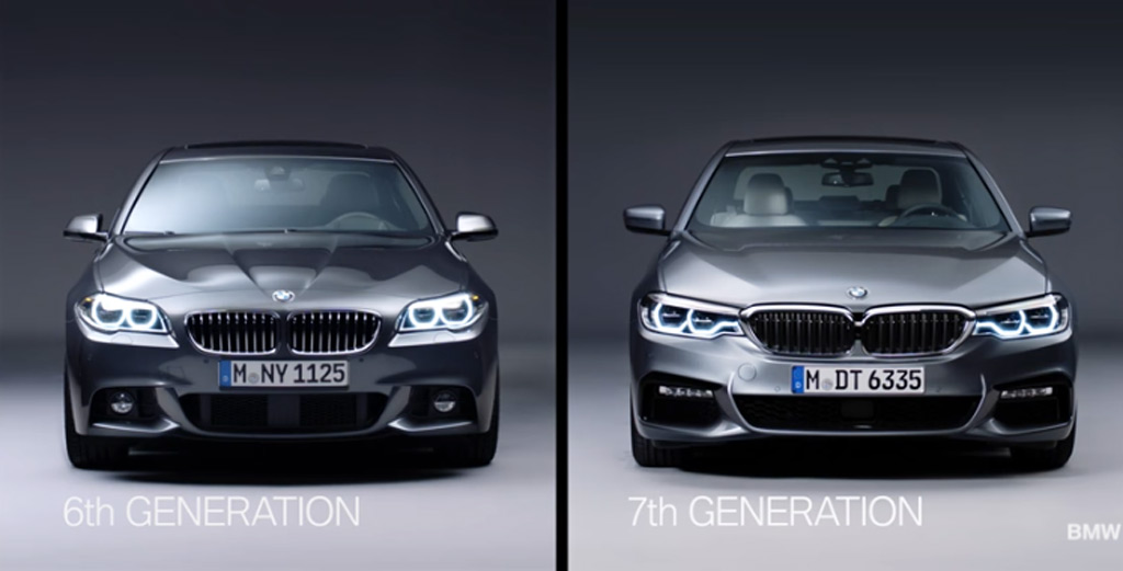 Video Outlines Differences Between New Bmw 5 Series And Its Predecessor