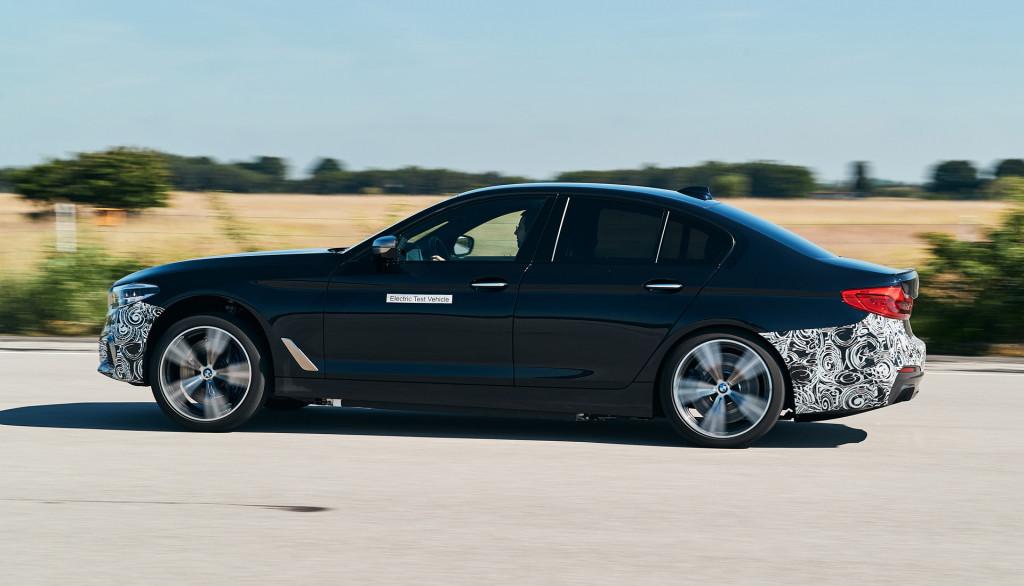 BMW tests 720-plus-horsepower EV system in 5-Series