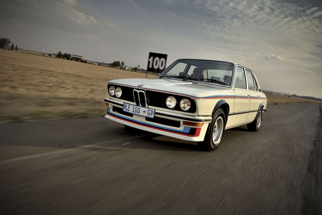 BMW unveils its fully restored 1976 530 MLE