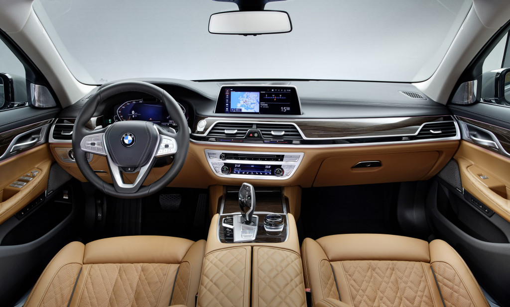 7 Series Bmw 2020 Interior