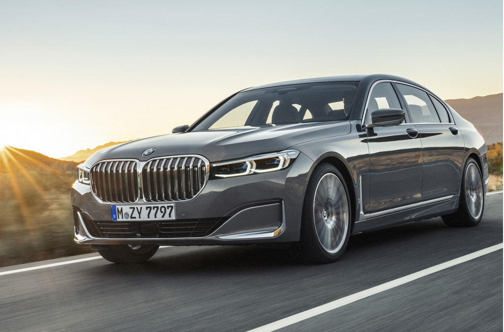2020 BMW 7-Series revealed: Giant grille for luxury sedan