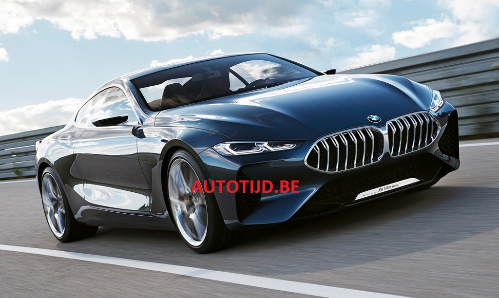 BMW 8Series concept leaked
