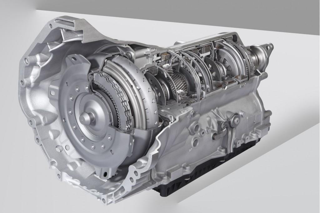 BMW 8-speed transmission