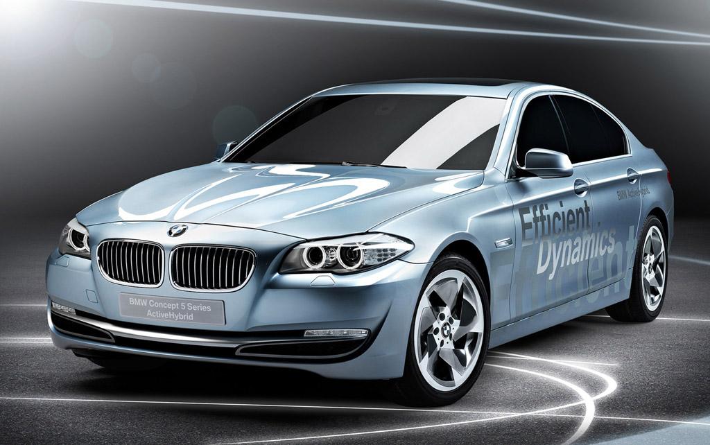 2010 Geneva Motor Show Preview: BMW ActiveHybrid 5 Concept