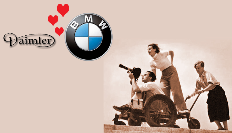 BMW and Daimler would make Reifenstahl proud
