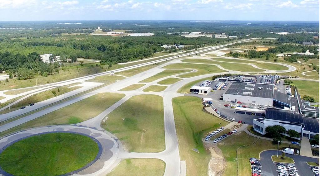 BMW driving training center in Spartanburg, South Carolina