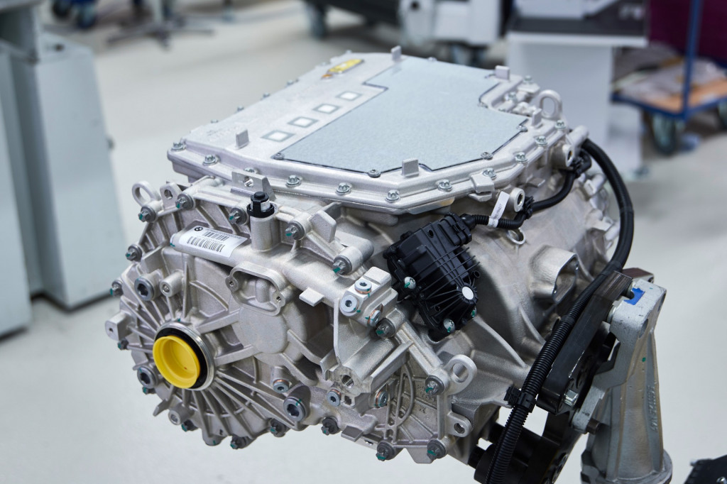 BMW fifth-generation motor system