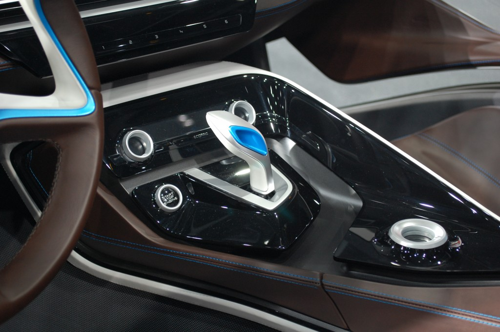 BMW I8 Concept Live Photos, 2011 Frankfurt Auto Show