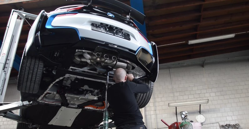 BMW i8 finally sounds mean thanks to Heinz Performance exhaust