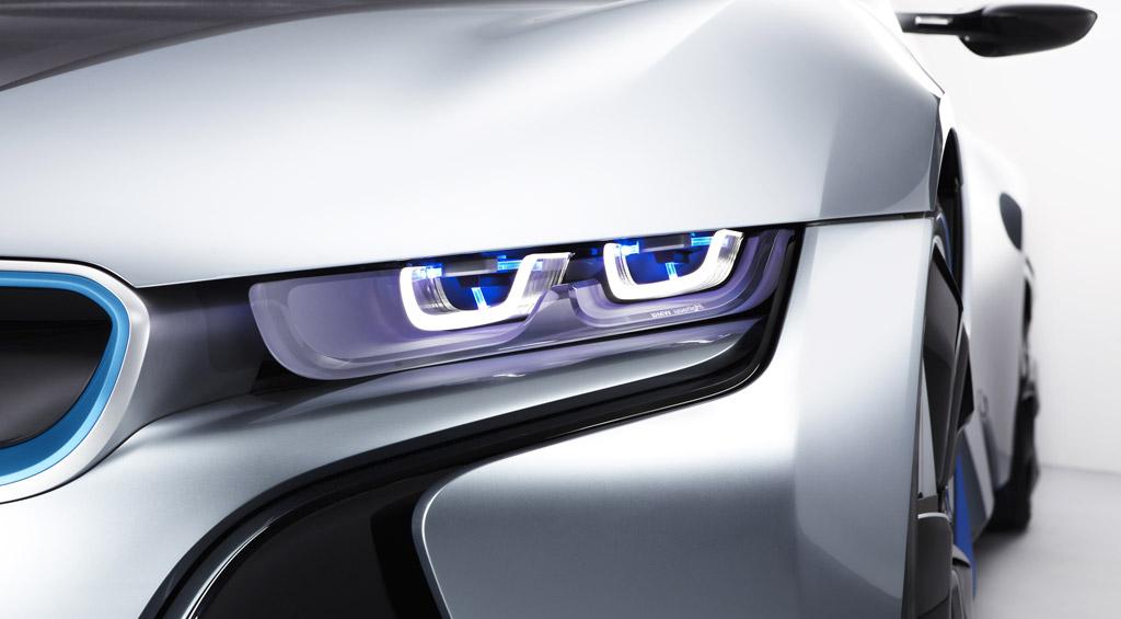 BMW Develops Laser Headlight Technology - Car laser light show