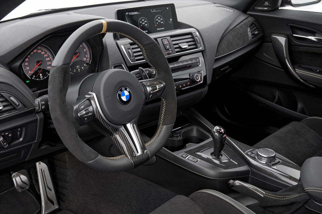 BMW brings the carbon fiber with M2 M Performance Parts concept