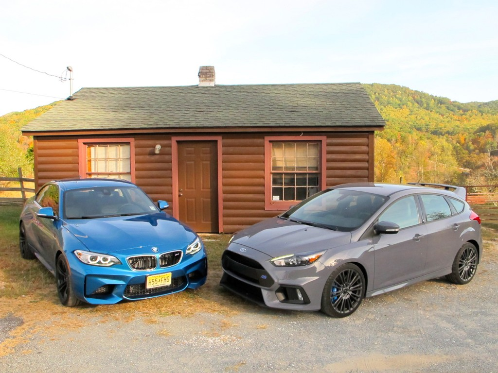BMW M2 vs. Focus RS