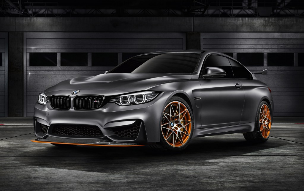 BMW M4 GTS Concept Revealed Production Version To Follow In 2016