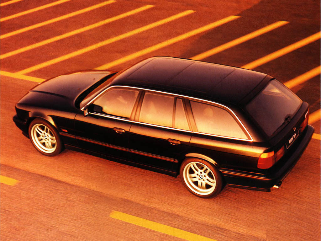There's a secret BMW E34 M5 Wagon with a McLaren F1 engine in it