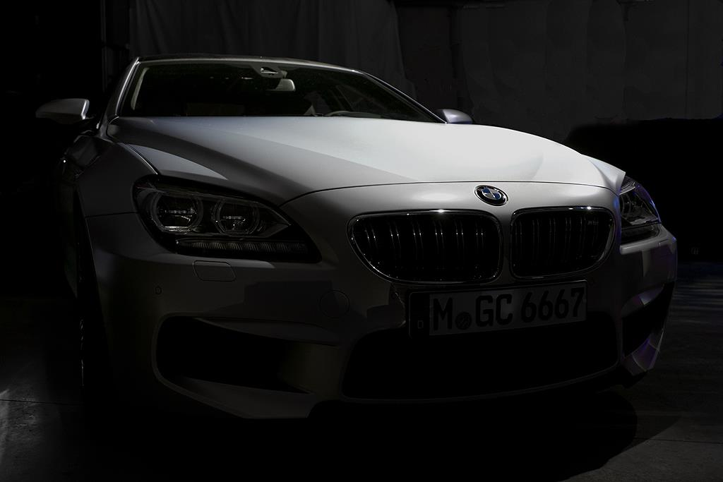 BMW M6 Gran Coupe teaser images
