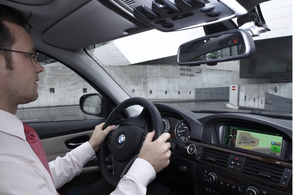 "BMW Pathfinder ""micronavigation"" system prototype"