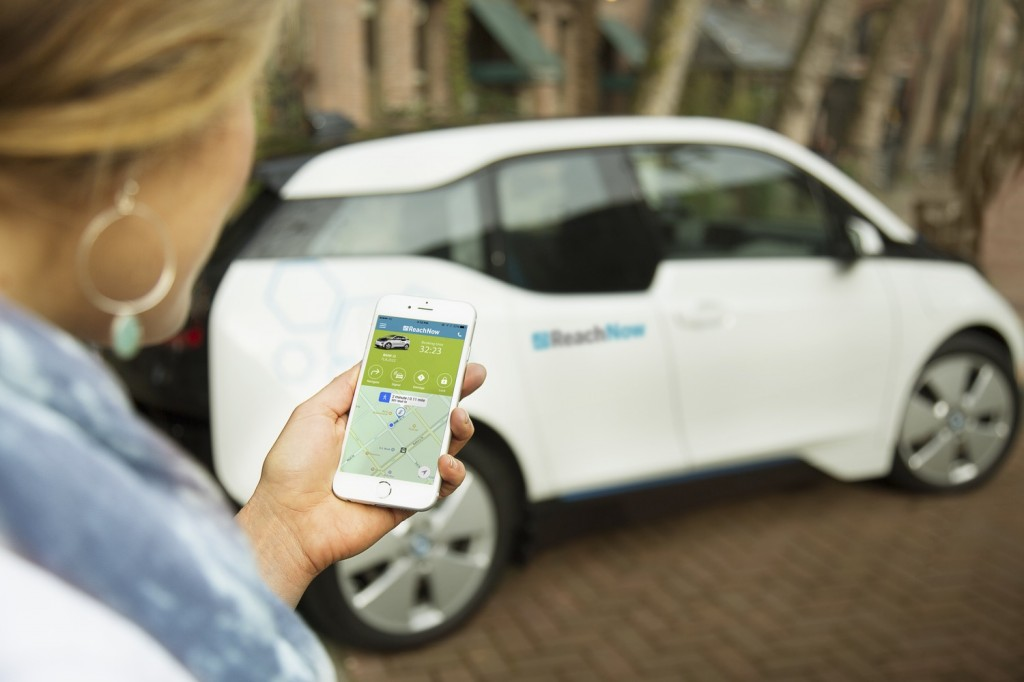 BMW goes after Uber, expands ReachNew car-share app to include ride-sharing