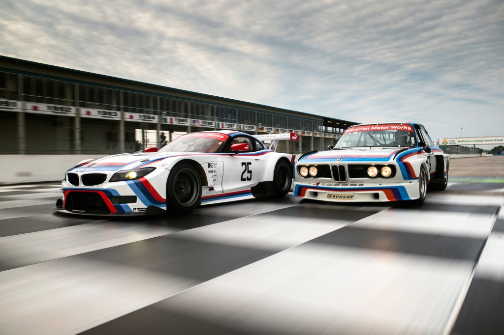 BMW Team RLL Z4 GTLM joins classic 3.0 CSL at Sebring, 2015