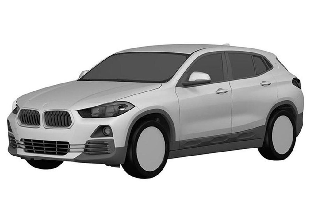 Patent Drawings Reveal Design Of Production Bmw X2