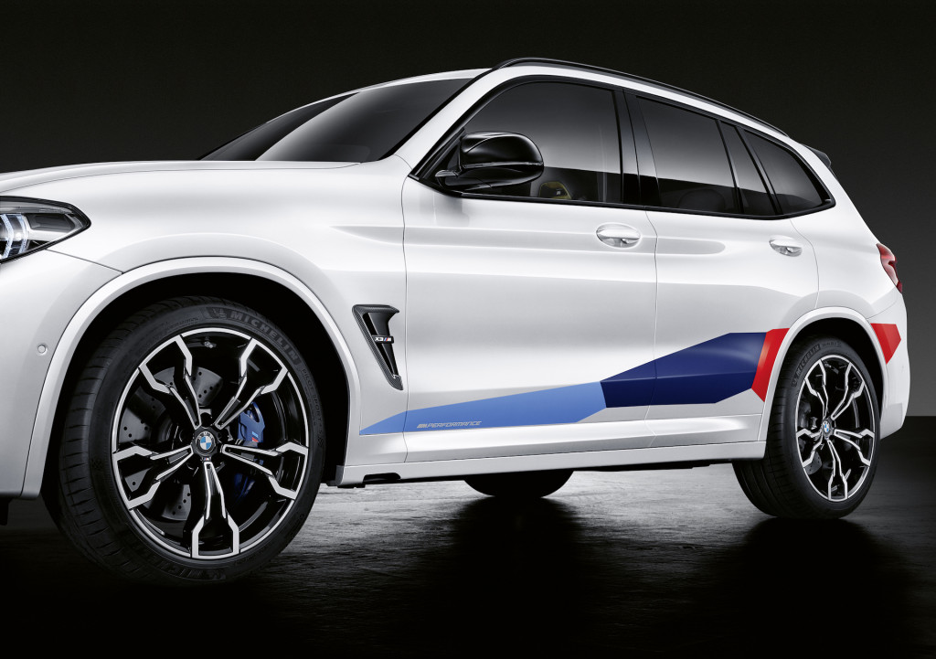Bmw Releases A Slew Of M Performance Parts For The 2020 X3 M X4 M