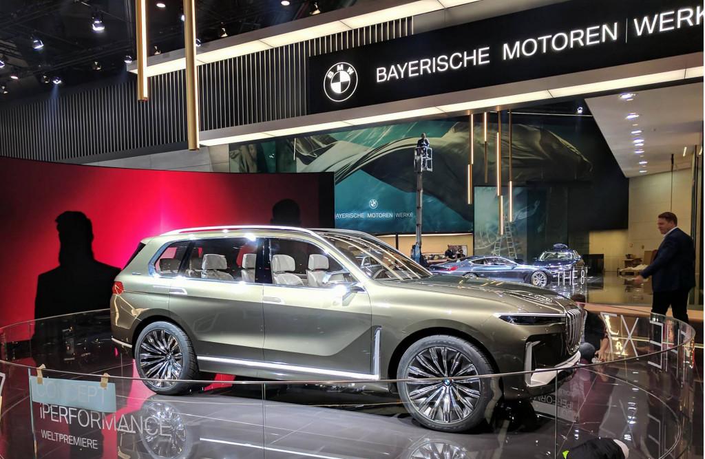 Bmw X7 Iperformance Concept 2017 Frankfurt Motor Show