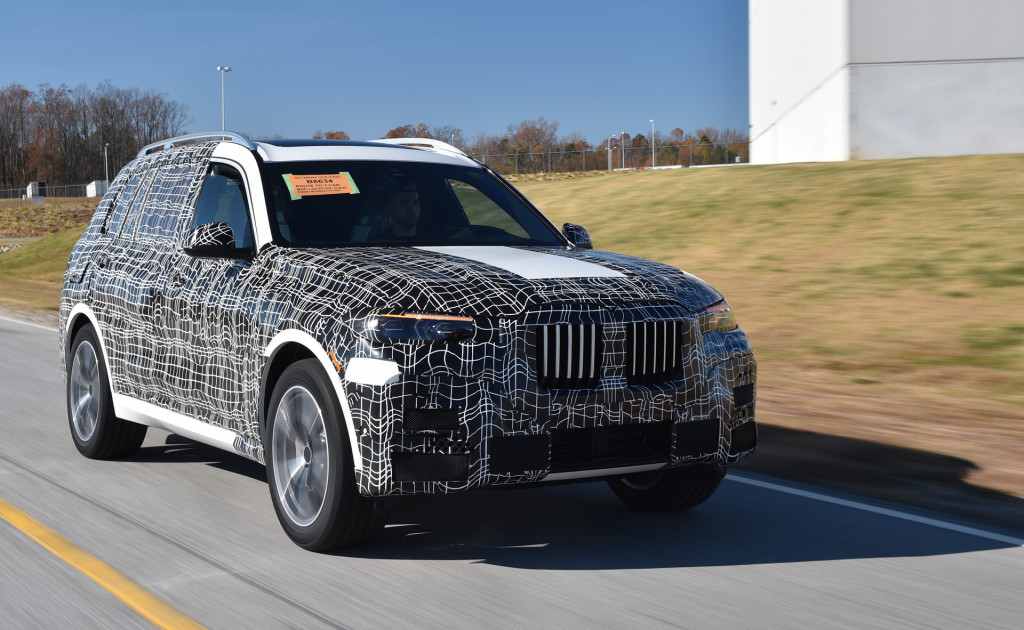 BMW X7 to debut at 2018 Los Angeles auto show