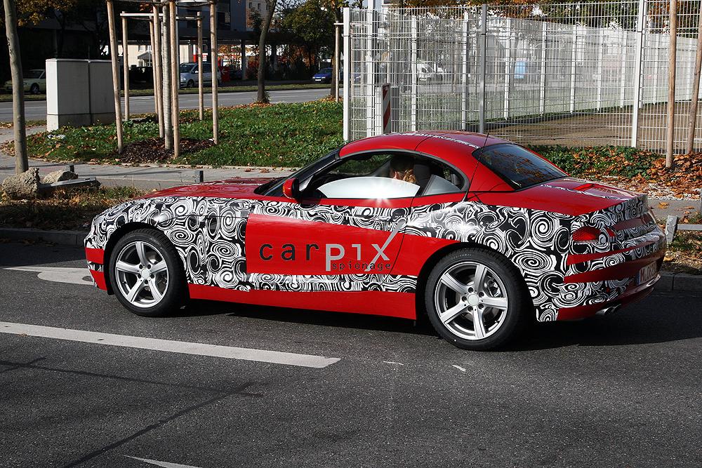 2009 BMW Z4 spy shots