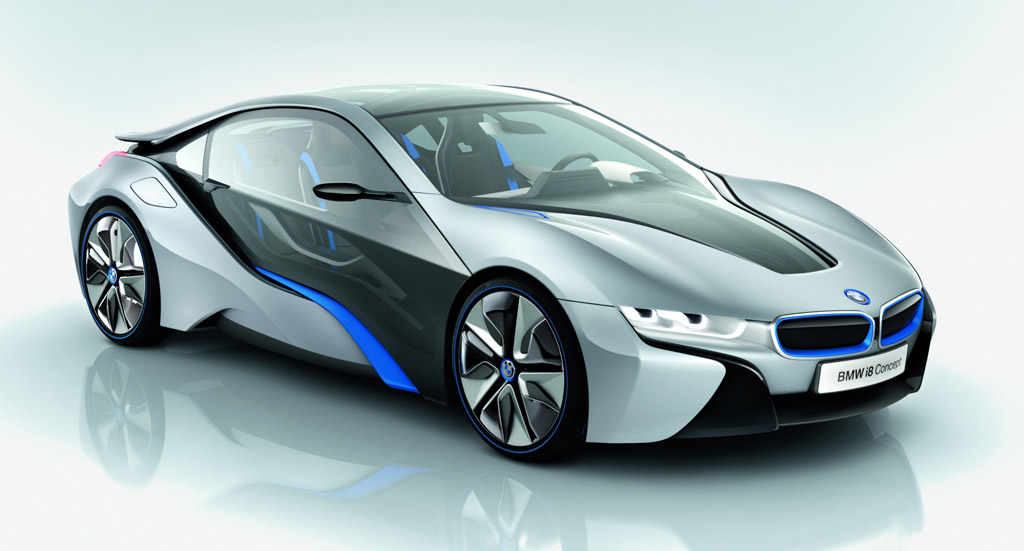 Bmw I8 Concept 78 Mpg And 0 60 Mph In Under 5 Seconds