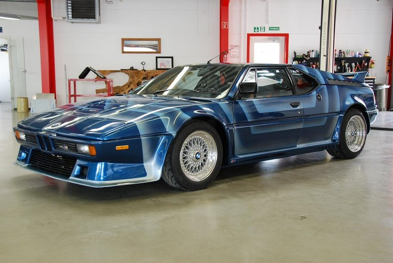 Bmw M1 For Sale >> Incredibly Rare 1981 Bmw M1 Ahg Studie For Sale For 930k