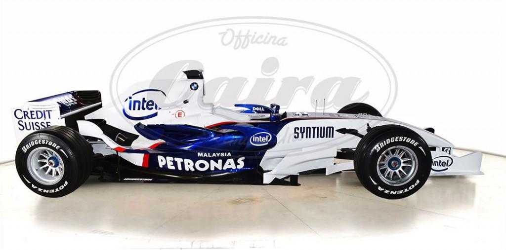 2007 BMW-Sauber F1 race car
