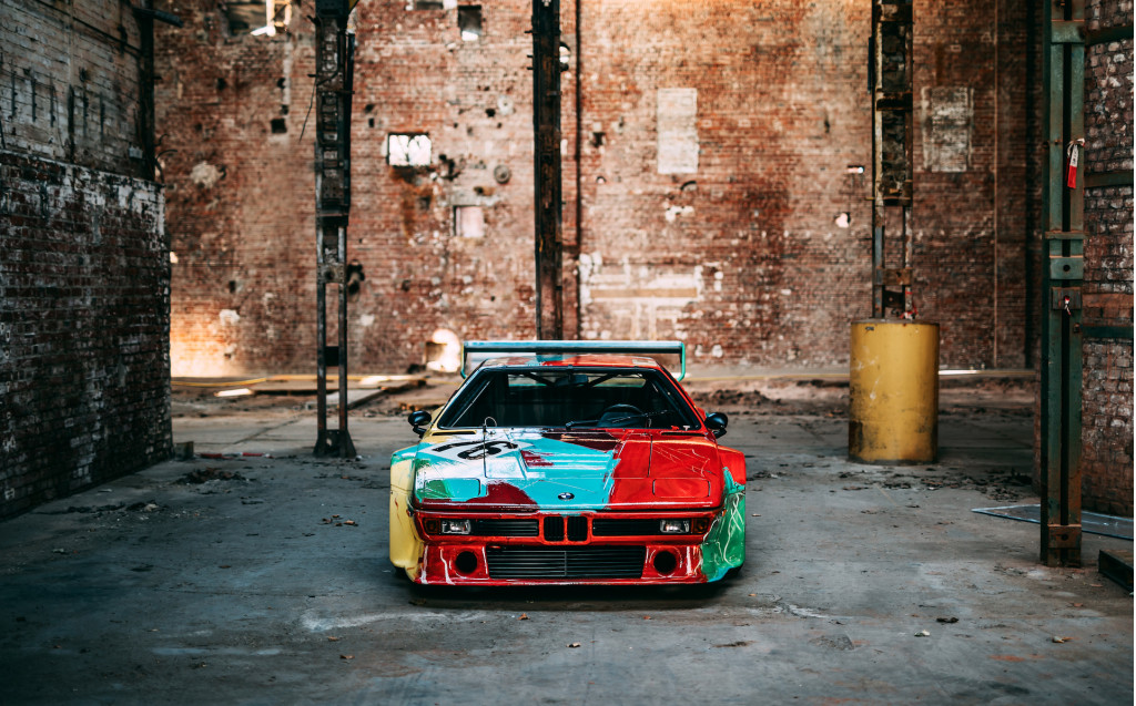 Andy Warhol's BMW M1 Art Car turns 40, looks better than ever