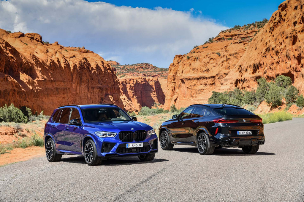 2020 BMW X5 M, X6 M arrive with more than 600 horsepower for more than $106,000