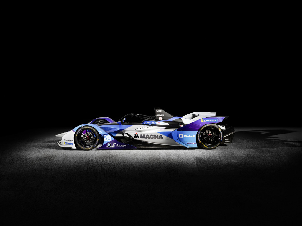 BMW unveils the Formula E iFE.20 race car for BMW i Andretti Motorsport