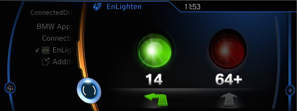 BMW's EnLighten app