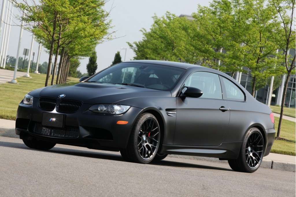 2011 BMW M3 Frozen Black Coupe Like Gray Only Darker