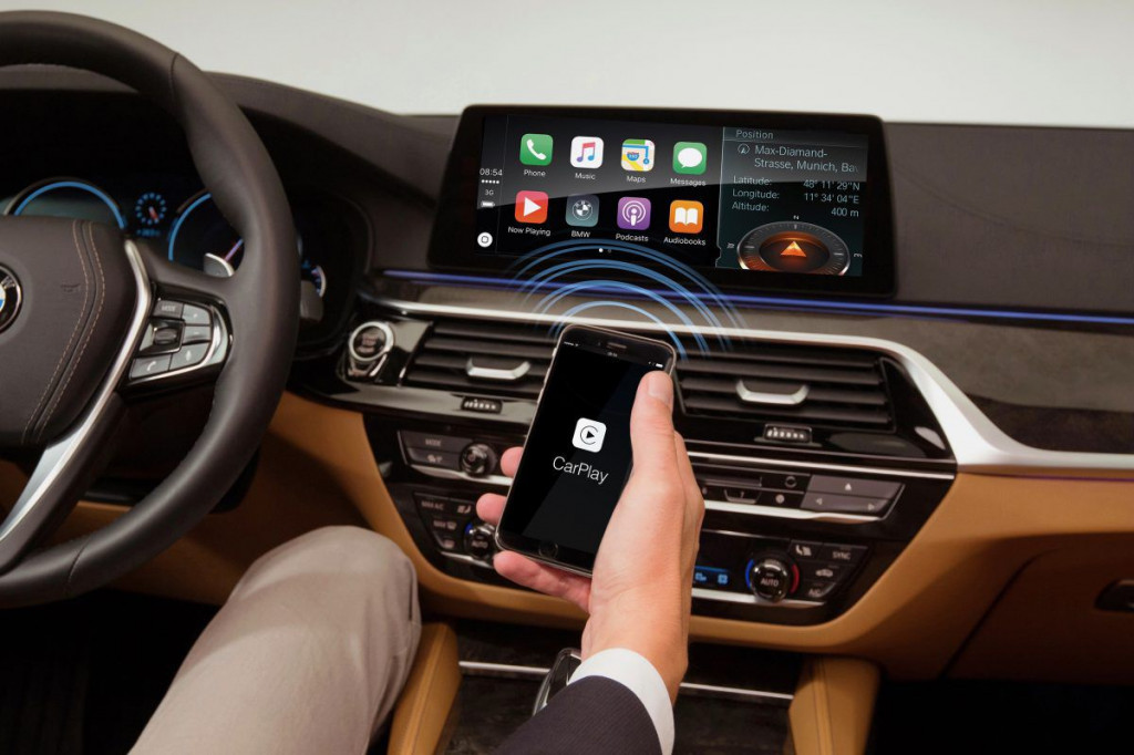 BMW's wireless Apple CarPlay integration