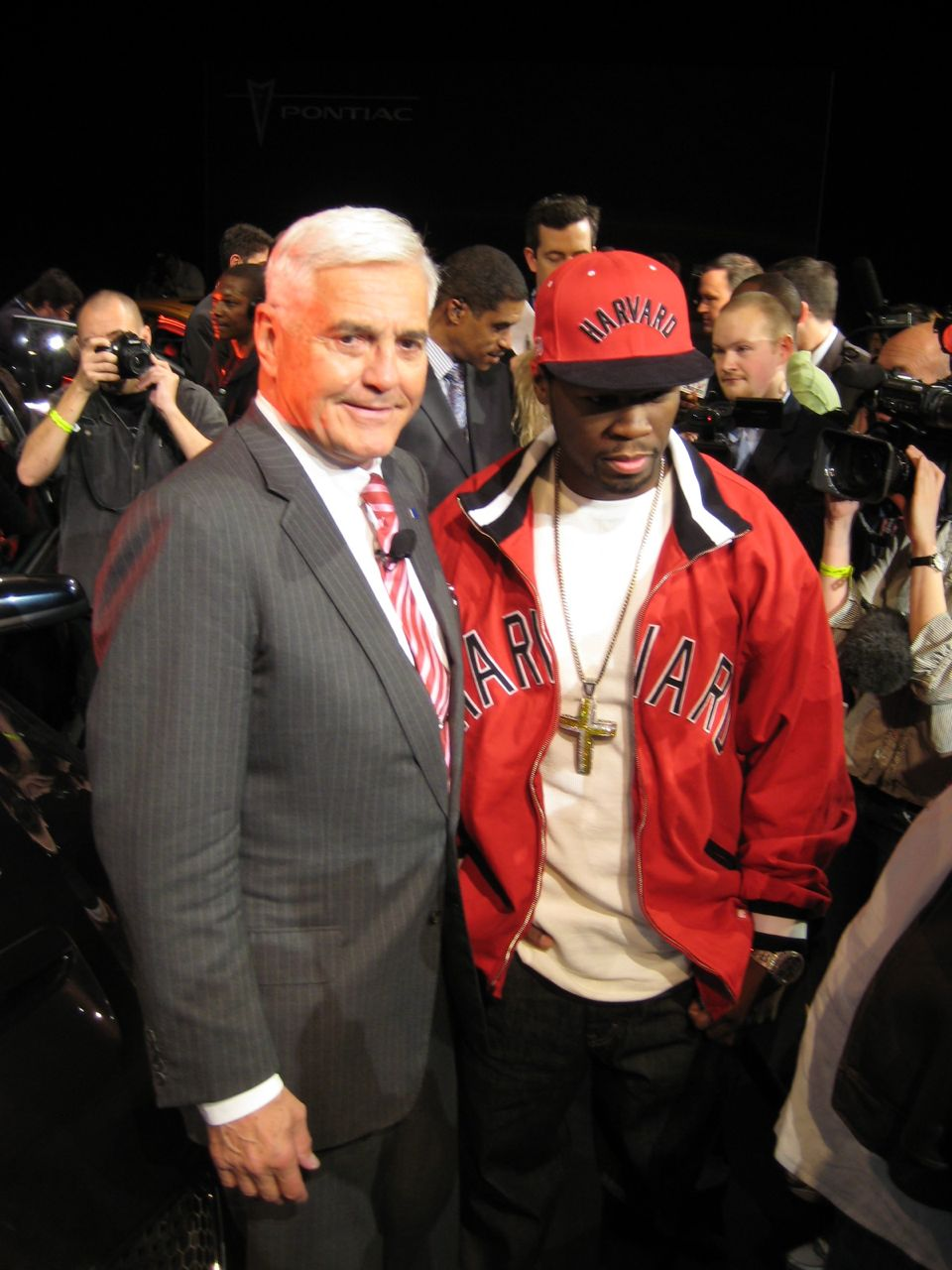 Bob Lutz and 50 Cent
